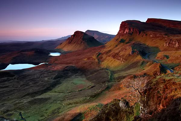 Quiraing, Isle of Skye - Isle of Skye