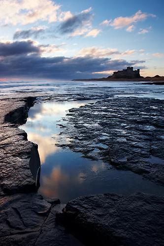 Bamburgh Sky, Northumberland - Northumberland