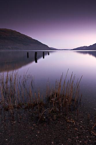 Loch Lomond at Dusk - UK Scenery