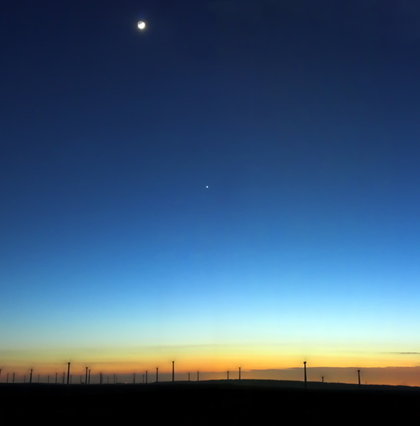 The Wind At Night - UK Scenery