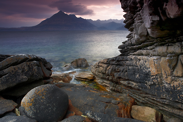 Rock Formation, Isle of Elgol - Isle of Skye
