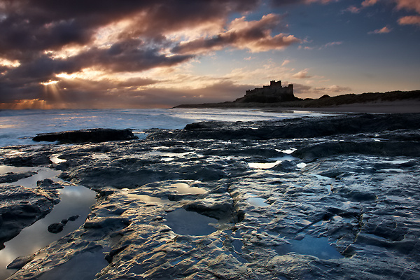 Braking Through, Bamburgh - Northumberland