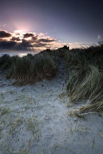 Sunrise, Bamburgh Beach - Northumberland