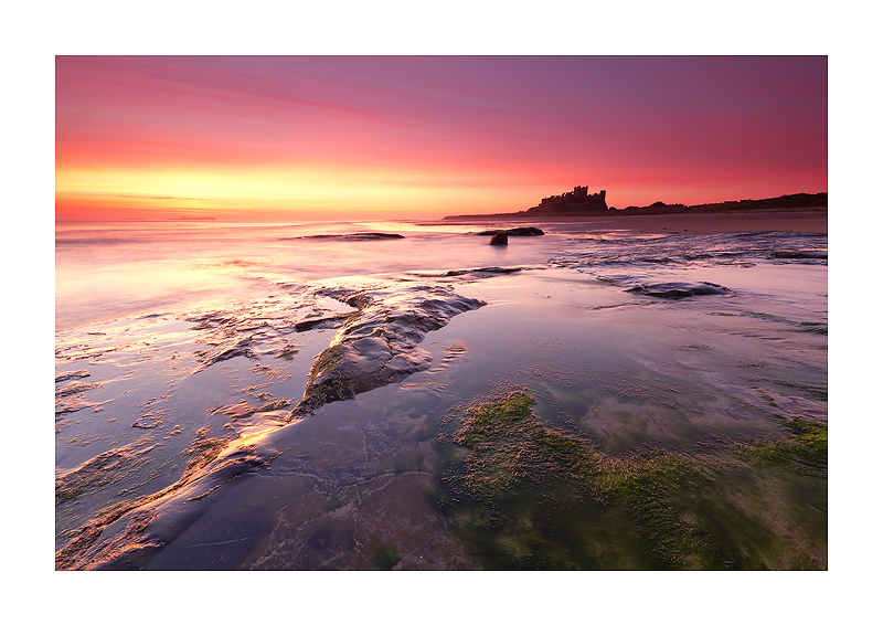 Dawn, Bamburgh Castle - Northumberland
