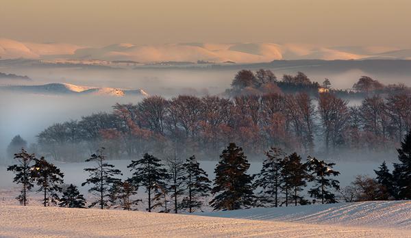 Winters Light - UK Scenery