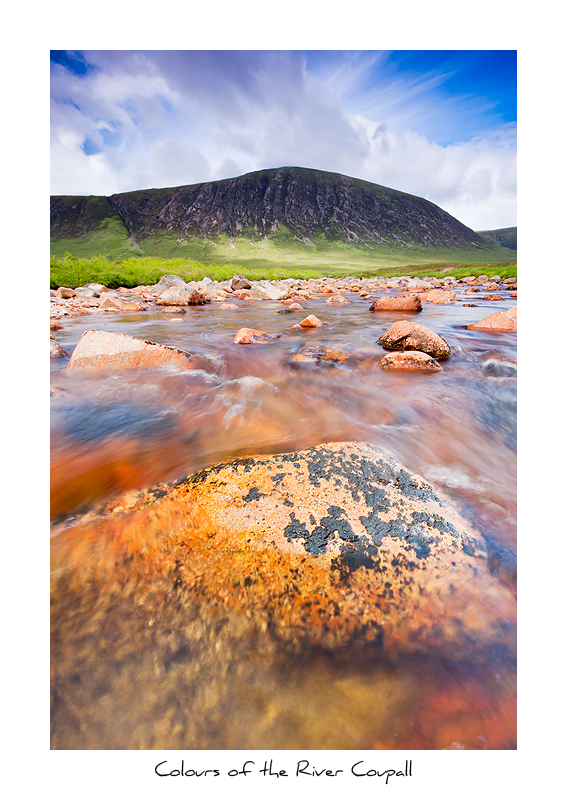 Colours of the River Coupall, Glen Coe - Scottish Highlands