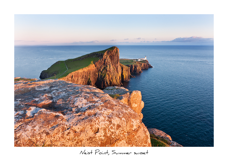 Neist Point, Summer Sunset - Isle of Skye