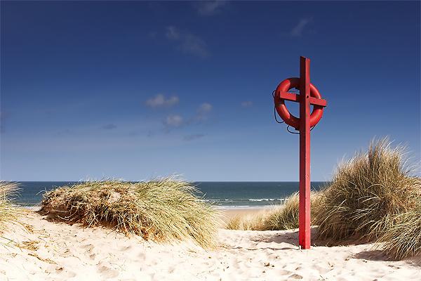 Lifeguard, Bamburgh Beach - Northumberland