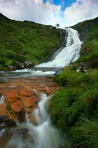 Eas a' Bhradain Warerfall, Isle of Skye - Isle of Skye