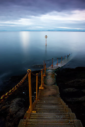 Old Pier, North Berwick - UK Scenery