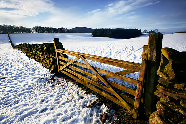 Borders View - UK Scenery
