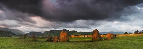 Sunlit Stones - Panoramas