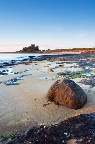 Solid as a......, Bamburgh Beach - Northumberland