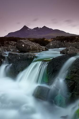 Allt Dearg Mor, Glen Sligachan - Isle of Skye