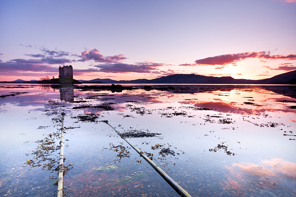 Loch Laich - Castle Stalker - Scottish Highlands