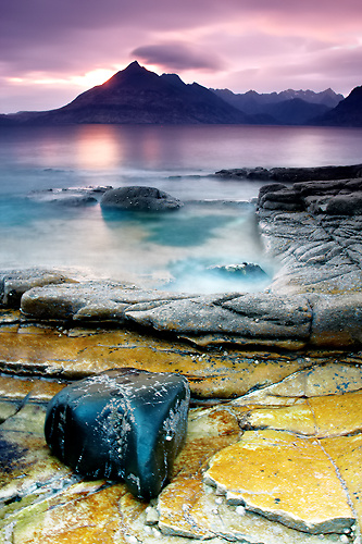 Band of Colours, Elgol - Isle of Skye