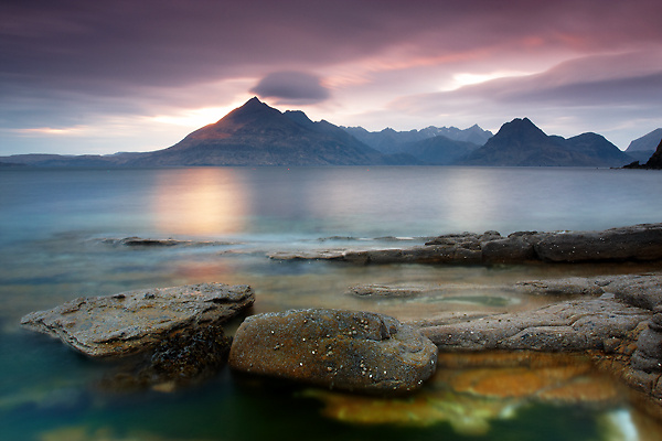 Sunset Elgol, Isle of Skye - Isle of Skye