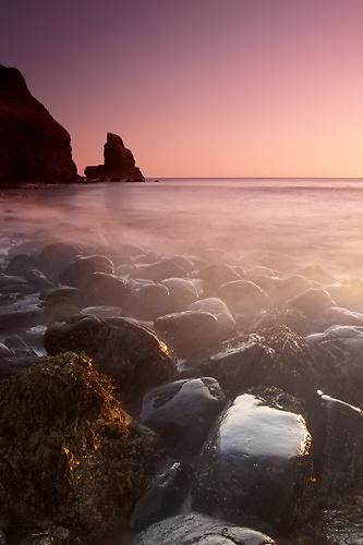 Talisker Sunset, Isle of Skye - Isle of Skye