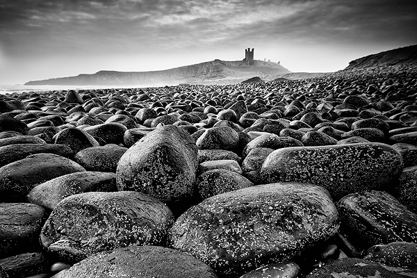 Lilburn Tower, Northumberland - Monochrome