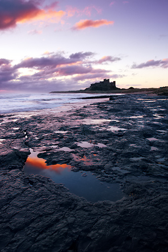 Morning, Bamburgh Beach - Northumberland