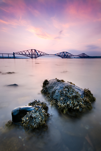 Forth Bridge Sunset - UK Scenery
