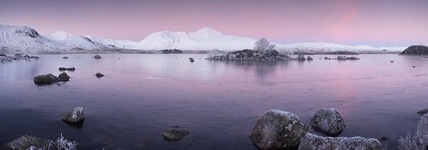 Lochan n h-Achlaise - Panoramas