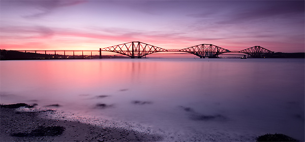 Dusk At The Bridge - UK Scenery