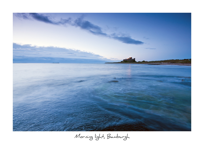Morning light, Bamburgh - Northumberland
