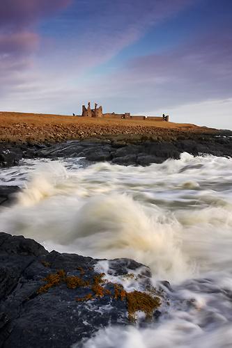 Dunstanburgh Castle, Northumberland - Northumberland