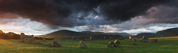 Dark Skies Over Castlerigg - Panoramas