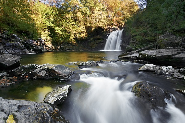 Falls of Fallock - UK Scenery