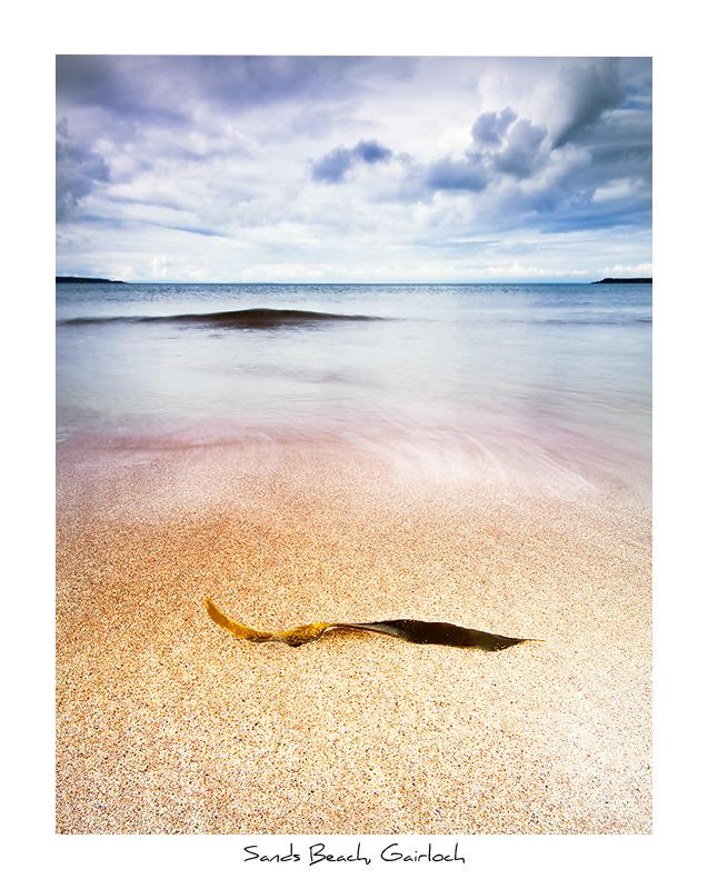Sands Beach, Gairloch - Scottish Highlands