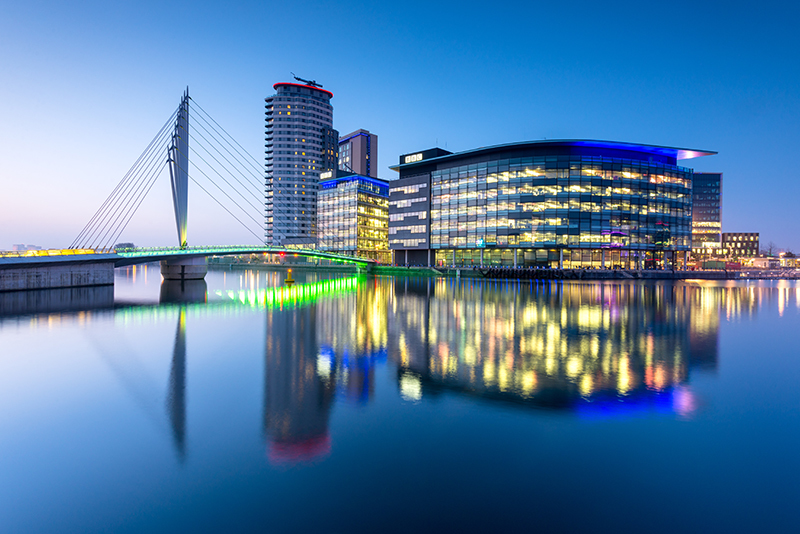 Salford Quays Manchester | Travel Photography