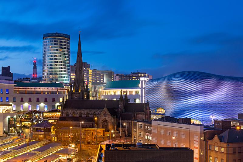 Birmingham Cityscape | Travel Photography