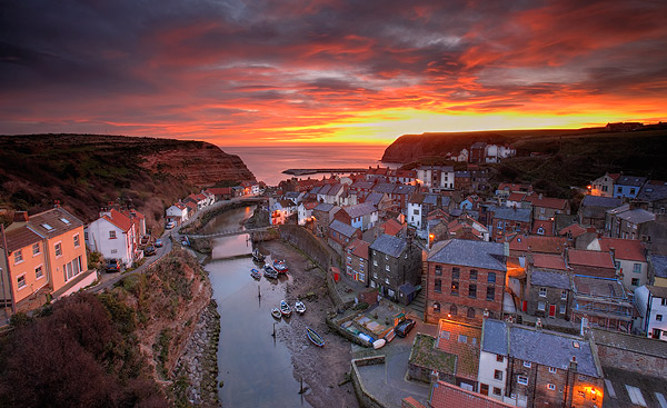 Good Morning Staithes - Landscapes