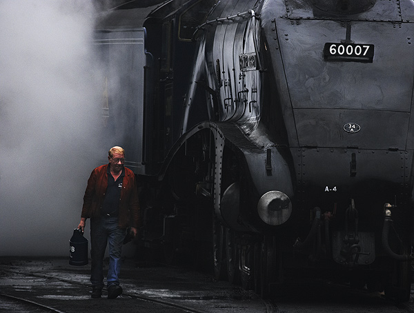 Looking after Sir Nigel - Iron and Steam