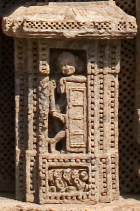 e157b - Konarak, Surya Deul