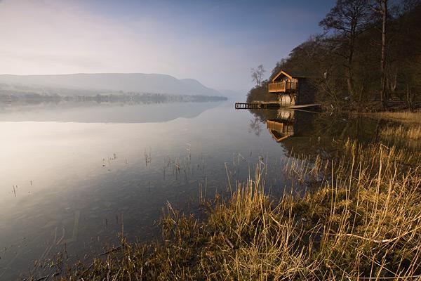 Ullswater Boathouse - Landscapes