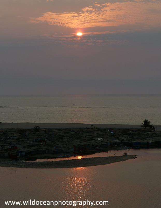 ANG019: Sunset - Angola (W. Africa)