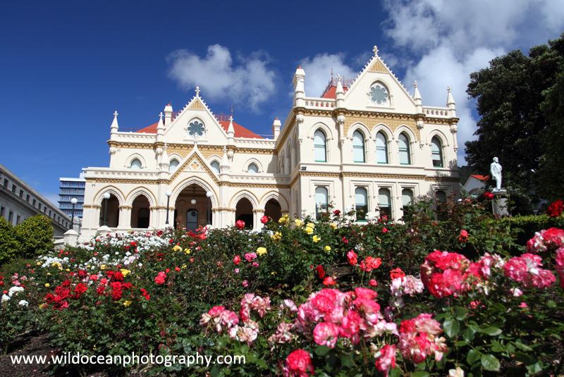 NZ031: Wellington Parliament Library - New Zealand (Wellington & South Island)