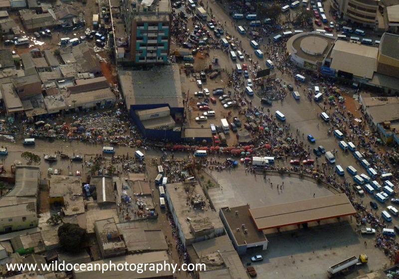 ANG002: Luanda market - Angola (W. Africa)