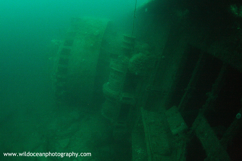 OSW035: James Barrie Bridge - Shipwrecks and Divers