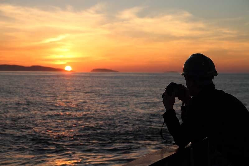 HSC029: Photographing the sunset - Marine Science and Conservation