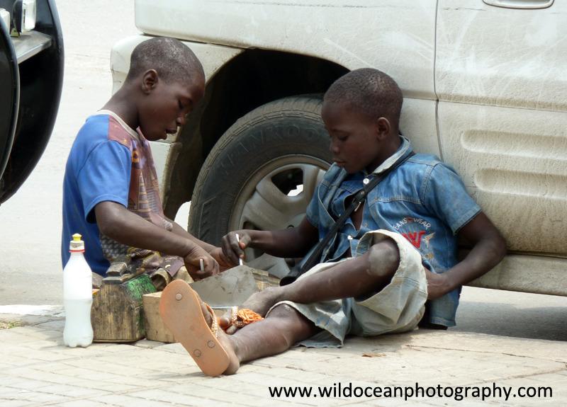 ANG018: Street food - Angola (W. Africa)