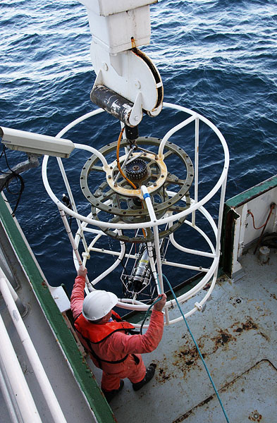 HSC004: CTD recovery - Marine Science and Conservation