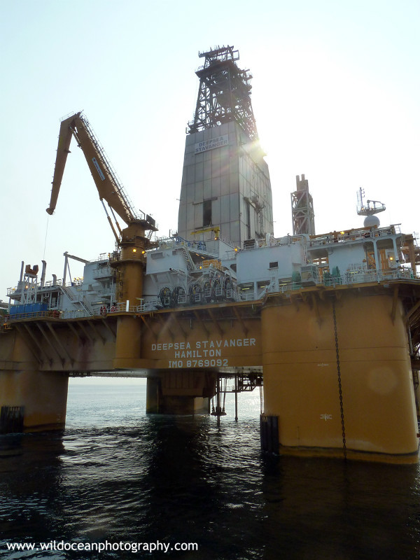 OGR005: Semi-Submersible Rig - Oil / Gas / Shipping