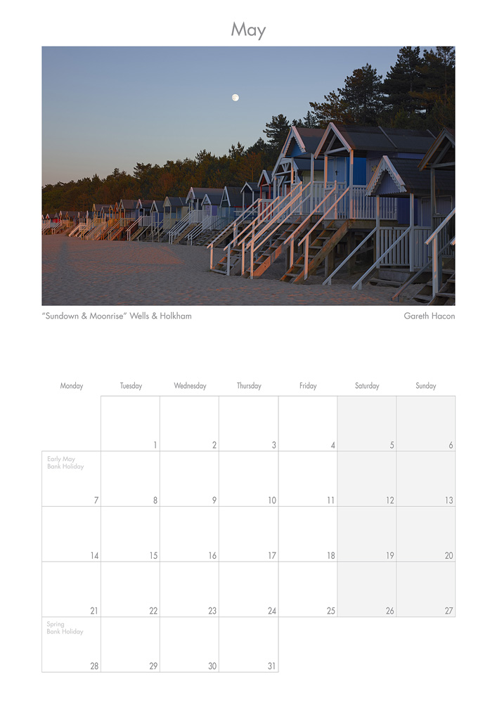2018 Calendar of North Norfolk - 2018 North Norfolk Calendar