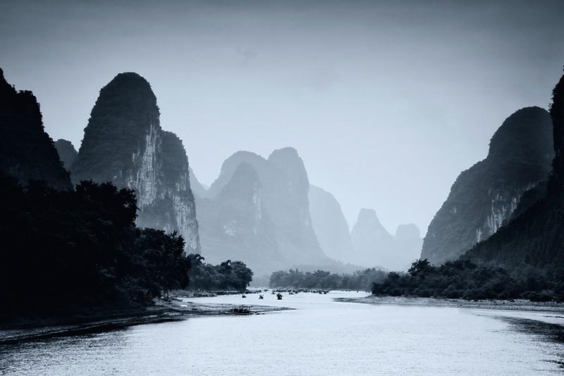 The Li River, Yangshuo, China