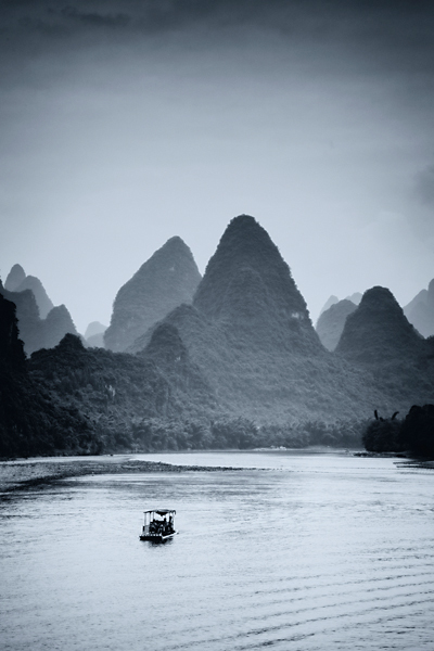 The Li River, Yangshuo, China