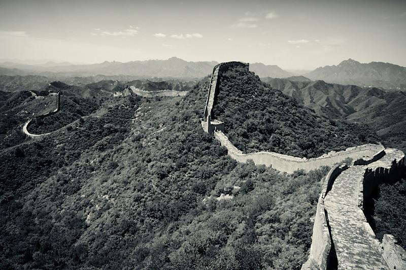 The Great Wall of China at Jinshangling, China